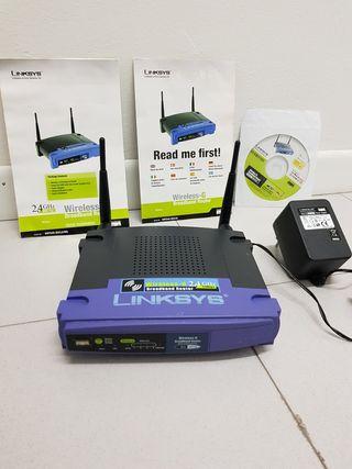 Router Linksys Wireless Broadband