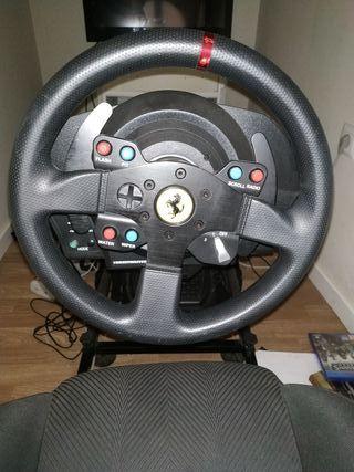 trhusmaster t300 versión Ferrari
