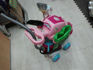 carro limpieza juguete