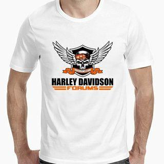 Camiseta blanca Harley Davidson