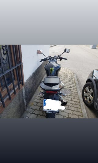 moto 125 cc Hyosung