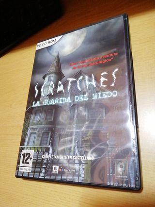 videojuego Scratches