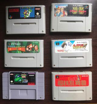 Super Nintendo, Videojuegos