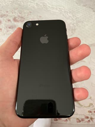CON FACTURA iPhone 7 128 GB negro brillante