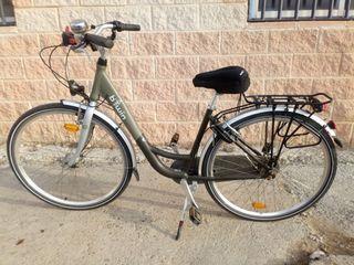 Bicicleta Adulto aluminio Btwin Elops 4