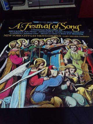 A festival of songs. Villancicos en vinilo