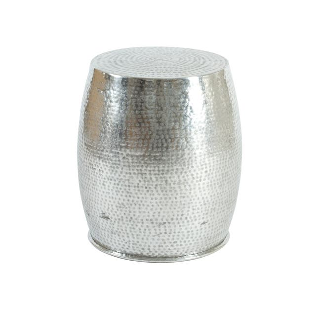 Aluminium Hammered Tisch Side Table