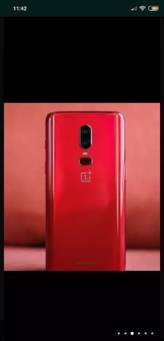 """OFERTA!!! ONEPLUS 6 8G 128GB """"LIMITED EDITION RED"""""""