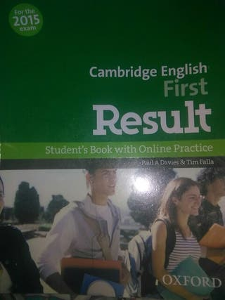 libro B2 first,