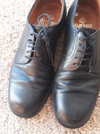 zapatos de caballero piel