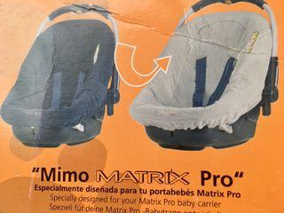 Nuevo. Funda silla coche Mimo Pro de Jané. Reversi de