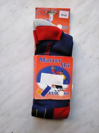 Calcetines de esqui talla:s-(sin estrenar)-