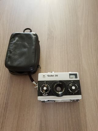 cámara de fotos Rollei 35