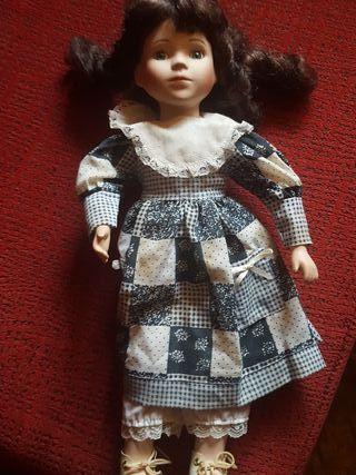 muñecas porcelana coleccion