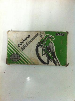 cadena bici con caja, BMX