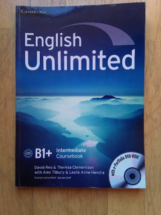 English unlimited B1+ Cambridge.
