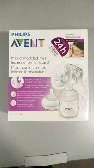 Sacaleches Philips Avent Manual