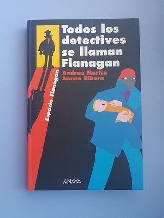 """Libro """"Todos los detectives se llaman Flanagan"""""""