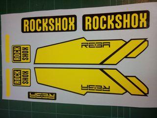 kit pegatinas rock shox Reba