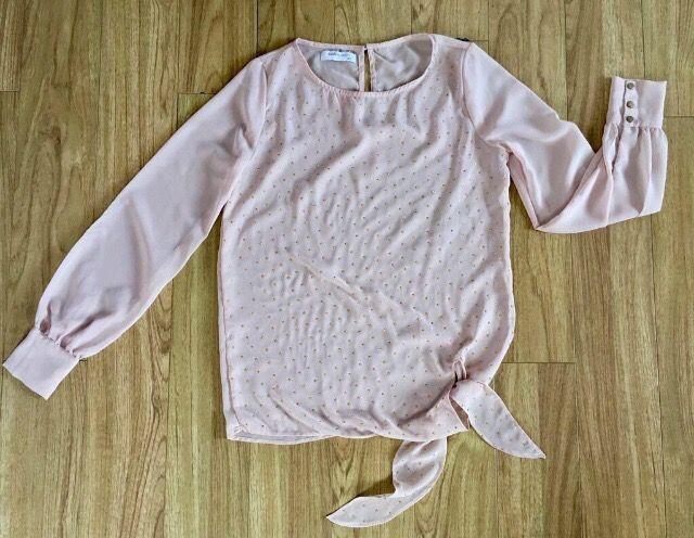 Camisa Rosa Palo Talla Xs Firma Blanco De Segunda Mano Por 8 En