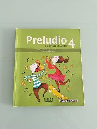 libro musica cuarto de primaria