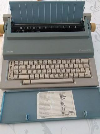 Maquina de escribir electrónica