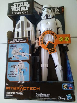 Star Wars - Figura Rogue One, Stormtrooper Interac