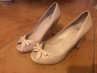 Vestido de novia + velo + cancán + zapatos