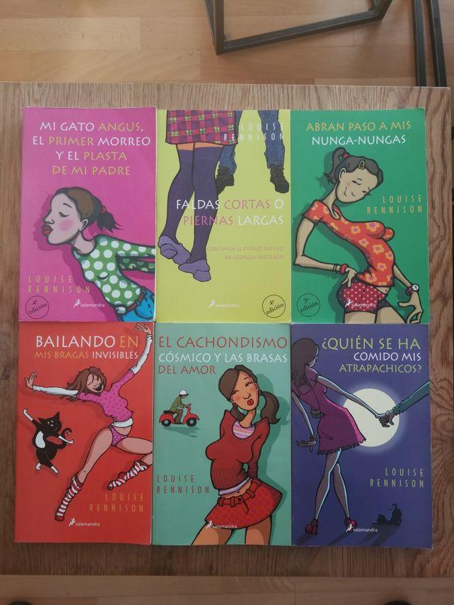 e5845870da COLECCIÓN DE GEORGIA NICOLSON -Libros de segunda mano por 25 € en ...