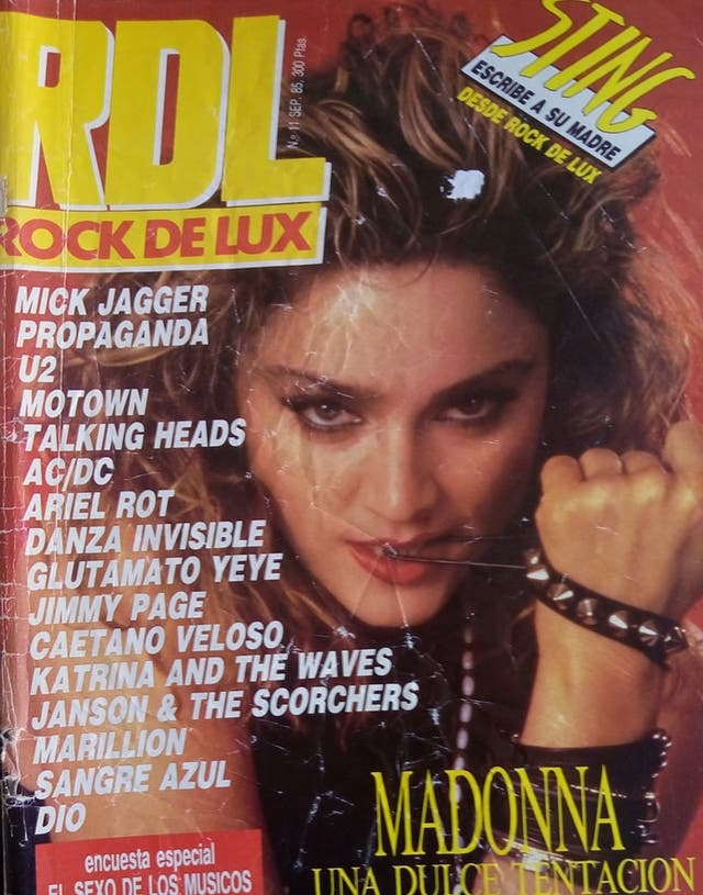 Resultado de imagen de revistas rock años 80