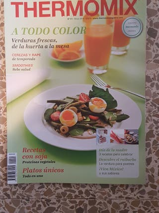 Revistas y libritos varios THERMOMIX