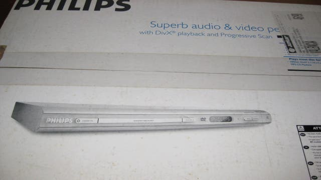 REPRODUCTOR DVD PHILIPS.