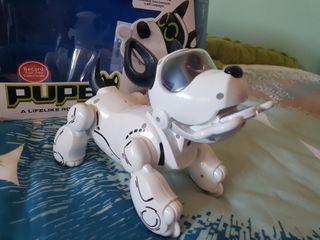 Pupbo perro robot. Juguete con caja