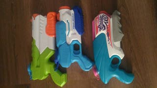 Pistolas Nerf Agua