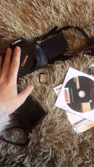 CANON 600D + 16 GB MEMORY CARD