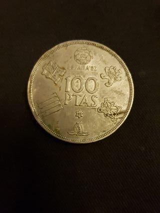 moneda 100pesetas
