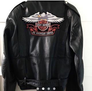 € En Hombre Davidson Segunda Mano 240 Chaqueta Harley De Piel Por SzVjpUMqGL