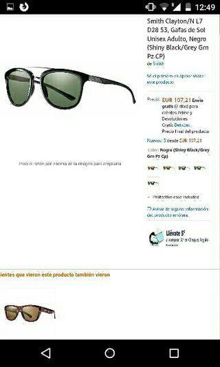 Gafas de sol polarizadas Smith (mod. Clayton)