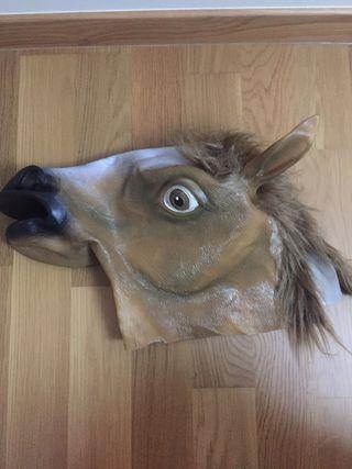 Máscara caballo talla única
