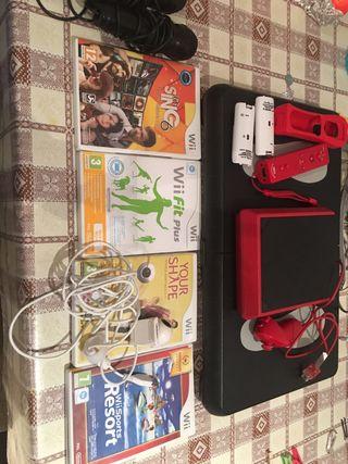Wii mini red