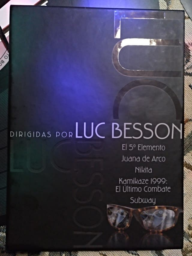Dvd Luc Besson - pack 5 dvd descatalogado