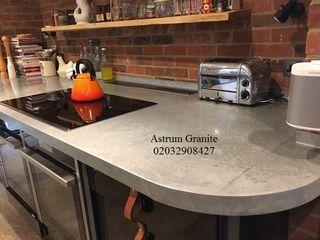 Get Ambar White Granite Kitchen Worktop in London