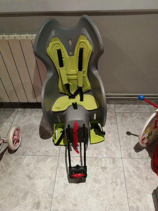 sillita portabebes para bici