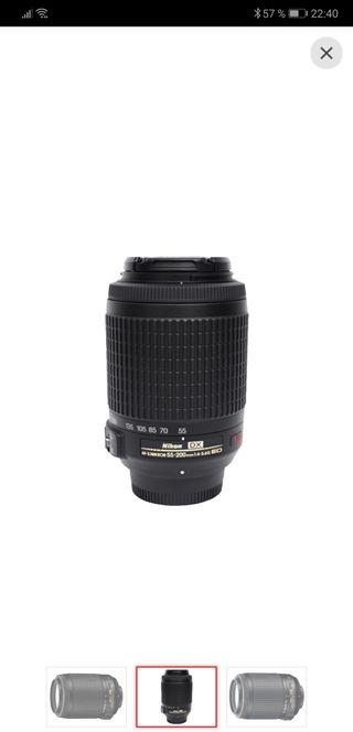 Nikon AF-S DX Zoom-Nikkor 55-200 mm f / 4-5.6G