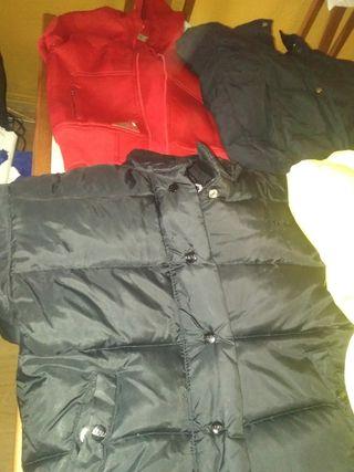 plumas y chaquetas