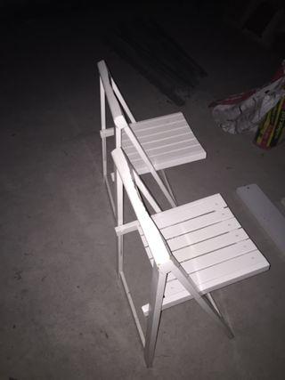 4 sillas