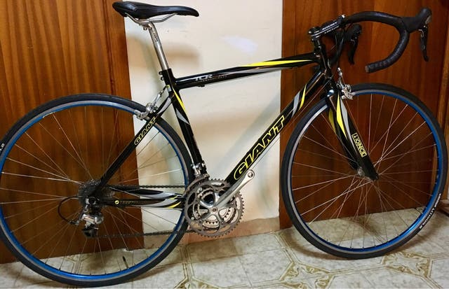 Bicicleta Carretera GIANT TCR ADVANCE TEAM ONCE.