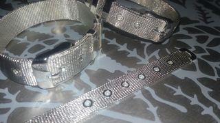 Pulsera cinturón plata 925