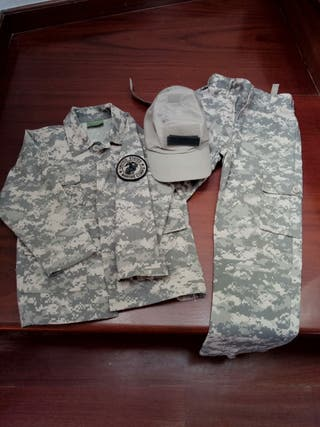 ropa militar niño
