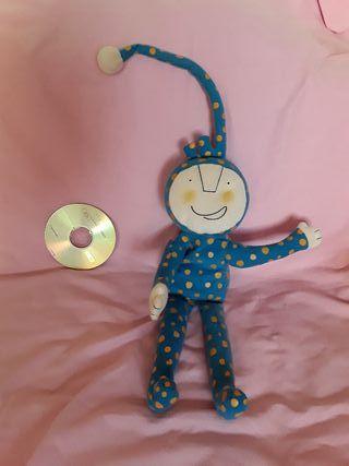 marioneta cascabel juguete bebé